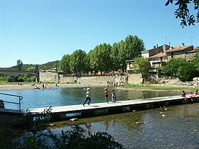 Bize Minervois river swimming