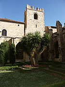 Cloisters in Narbonne, France