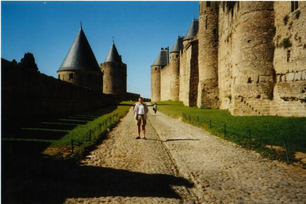 The cite of Carcassonne